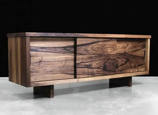 solid wood furniture for modern interior design and decor in eco style