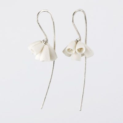 Porcelain Bunch Earrings, Ruth Tomlinson
