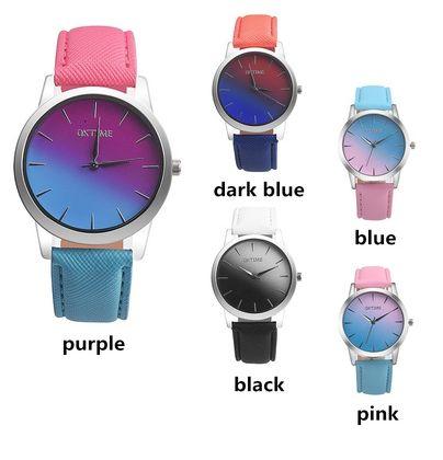 Relógio Feminino Retro Rainbow R$ 25,00 Cores: Azul, Rosa, Preto, Azul Escuro e Roxo. Peça já o seu. Frete Grátis. Pagamento via boleto ou nos Cartões em até 5x. Entrega de 30 a 60 dias