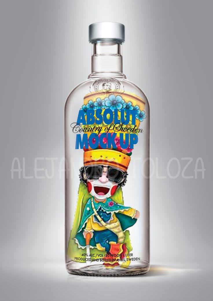 Absolut vodka, barranquilla