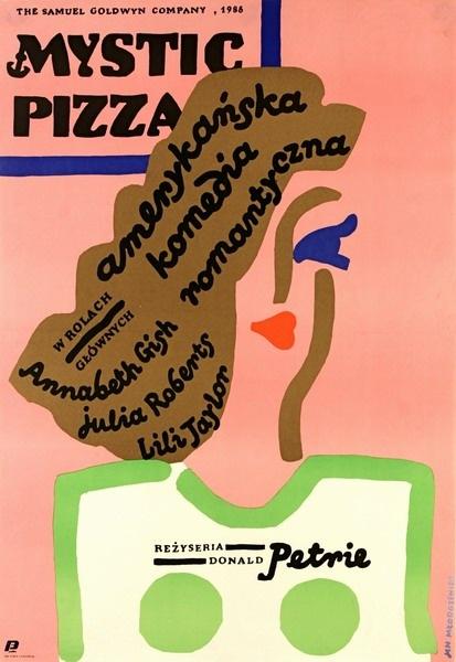 Mystic Pizza Mystic Pizza Mlodozeniec Jan Polish Poster