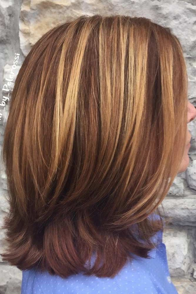 Hairstyles for shoulder length hair are so trendy now as we have such busy lives that low maintenance hair is exactly what we need. See our photo gallery.#haircuts#haircolor#hairstyle