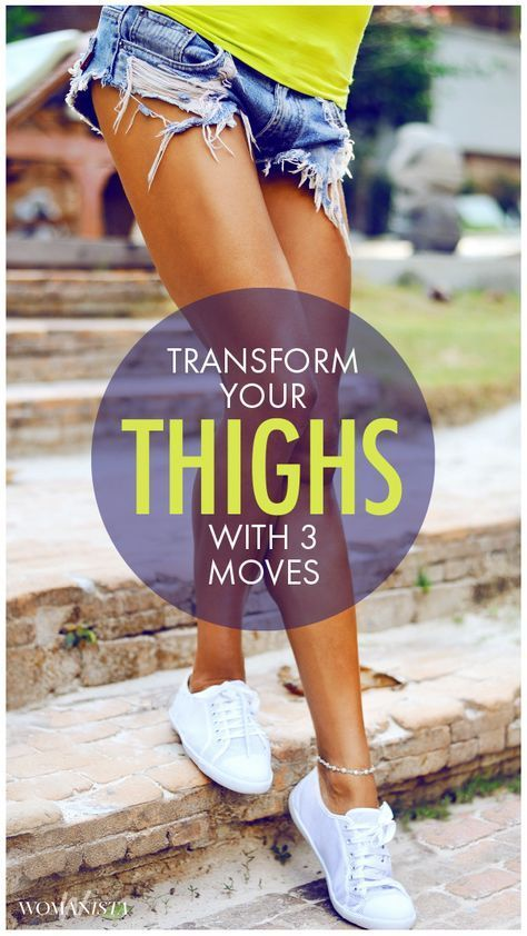 Let's get comfortable in those gorgeous legs again, ladies. These three exercises for inner and outer thighs will work to both tone and elongate those muscles. Womanista.com