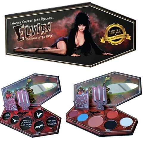 Pre-orders going on NOW for my NEW Elvira makeup palette with @lunatick_cosmetic_labs  -- http://www.lunaticklabs.com/Elvira-Mistress-Of-The-Dark-_p_262.html. #elvira #mistressofthedark #makeup #makeuppalette #cassandrapeterson #queenofhalloween #october #halloween #cosplay #elviramakeup #lunatickcosmetics #gothmakeup