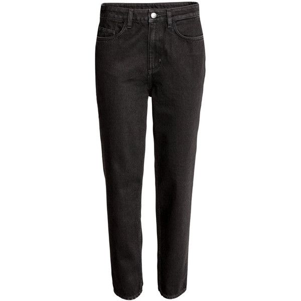 Loose fit Regular Jeans $59.99 (3.775 RUB) ❤ liked on Polyvore featuring jeans, loose fit jeans, loose jeans, denim jeans and loose fitting jeans