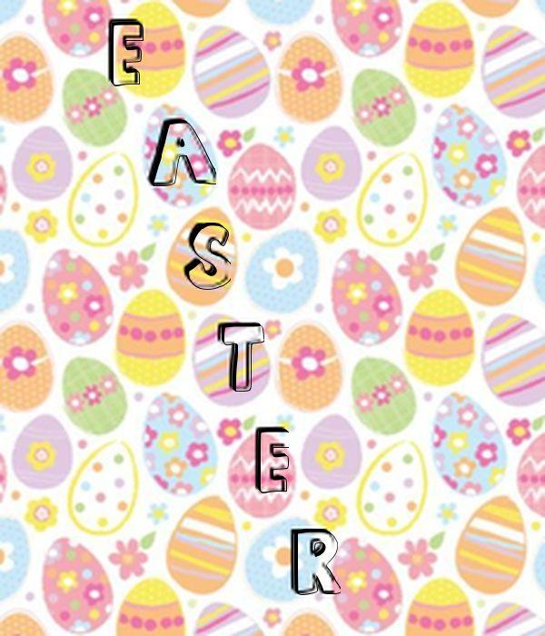 'E   A    S     T      E       R' Poster