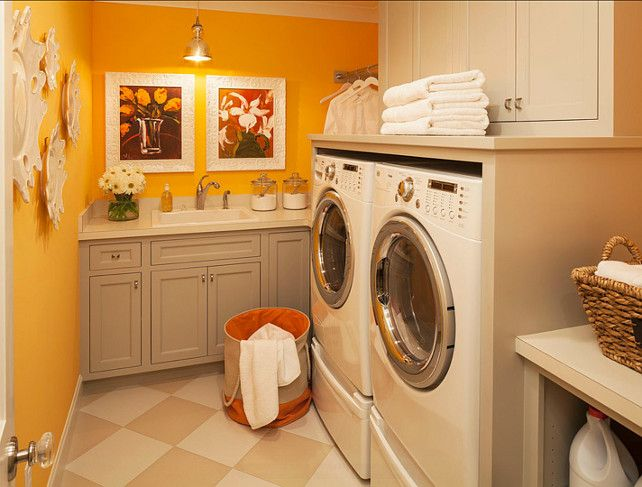 Laundry Room Ideas The Wall Paint Color Is Benjamin Moore