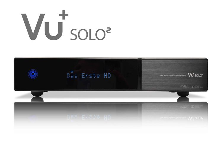 VU+ Solo2 med dubbla tuners och snabb processor!  Nya VU+ Solo 2 har släppt med dubbla S2 tuners (ej utbytbara). Mottagaren har fått en ny dubbelkärnig processor och stort minne. Solo2 har två inbyggda kortläsare och en modulplats Satvision.se