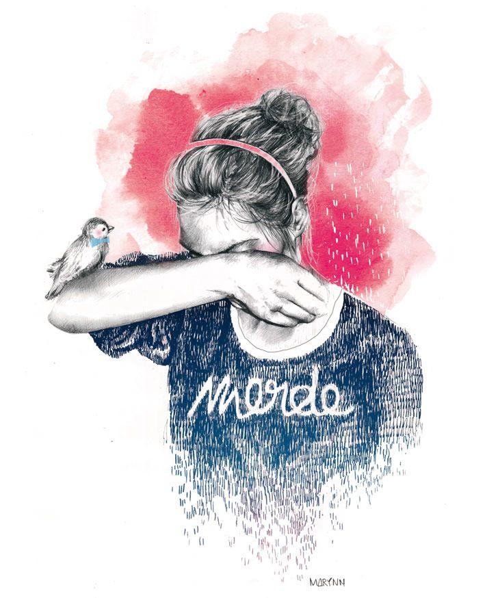 Marynn é uma jovem francesa designer e ilustradora, estudante de design gráfico de apenas 21 anos de idade. Seus desenhos estão se espalhando cada vez mais pela web e revistas de arte, onde a artis…