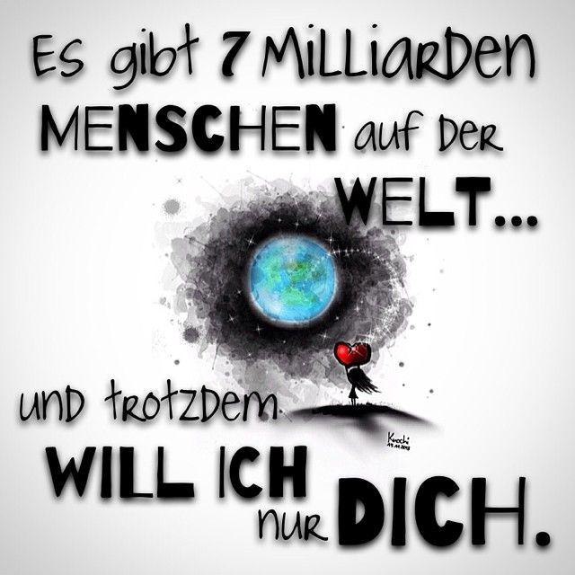 Es gibt 7 #Milliarden #Menschen auf der #Welt ... und trotzdem will #ich nur #dich !!!  #sketch - knochi_art