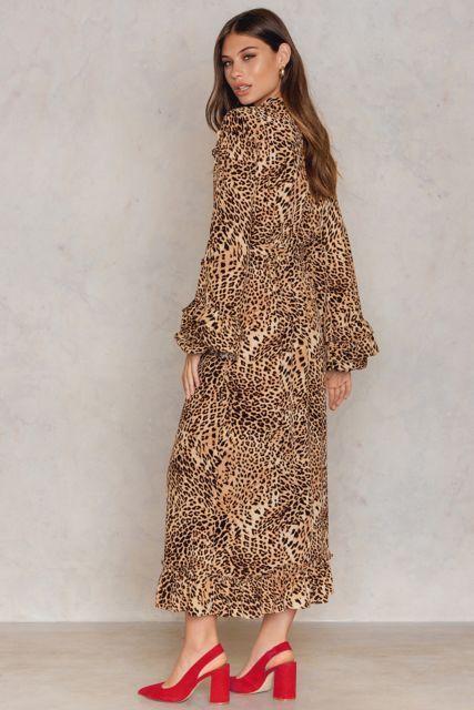 Christine Long Dress