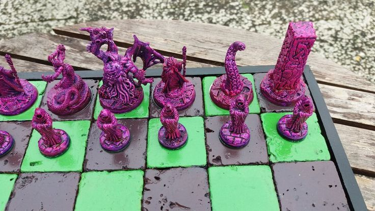 Eldritch Horror Chess Set