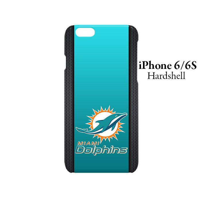 Miami Dolphins Logo iPhone 6/6s Hardshell Case Cover