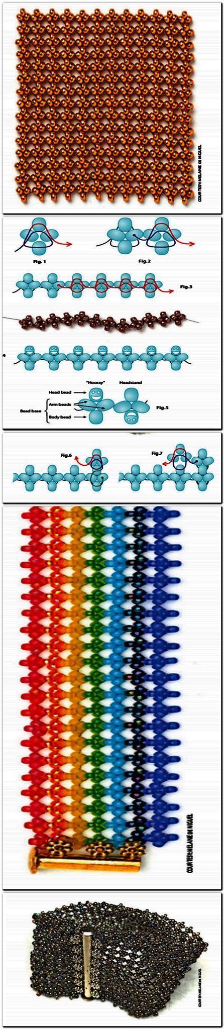 Hubble stitch ~ Seed Bead Tutorials