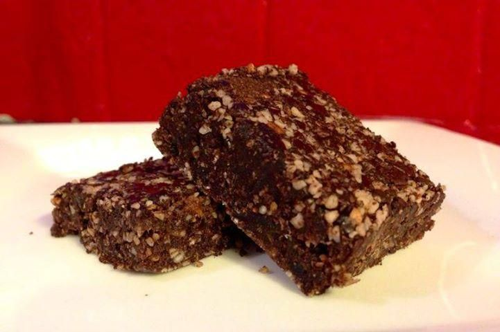 Chocolate Coconut Brownie  So easy to make you don't even need to bake. Great to share with family and friends.