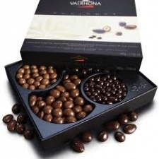 Valrhona has been creating exceptional gourmet chocolate since 1922, with cocoa beans purchased directly from premier plantations in South America, the Caribbean, and Pacific regions. The chocolate, made in the French style, comes in a variety of bars.