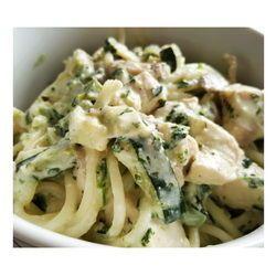 Creamy Chicken, Spinach & Veg Pasta