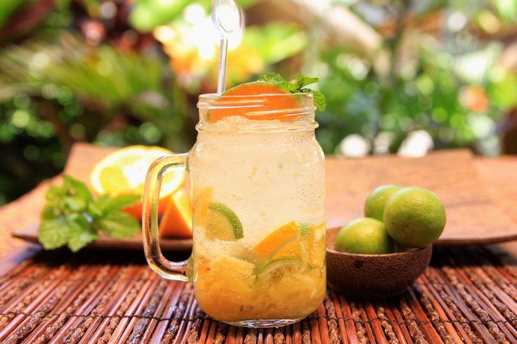 Ginger Mint at Bale Udang - Bali