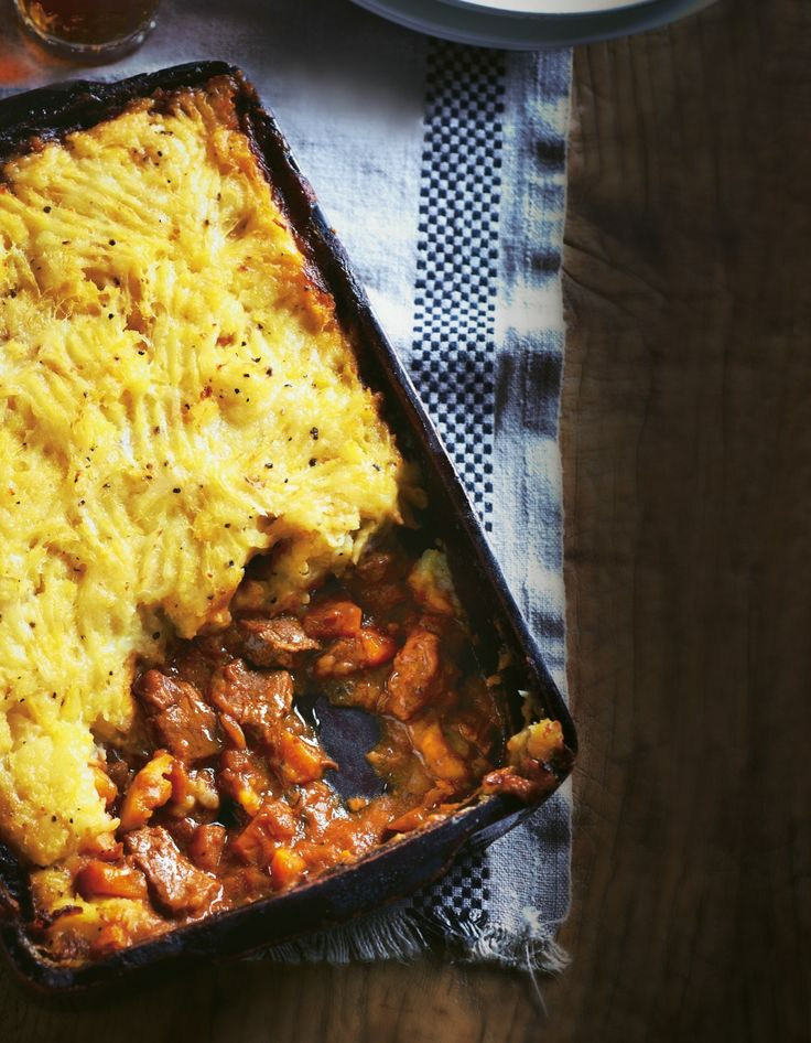 Cottage Pie with Swede Topping - you can replace the swede with parsnip for an equally tasty mash.