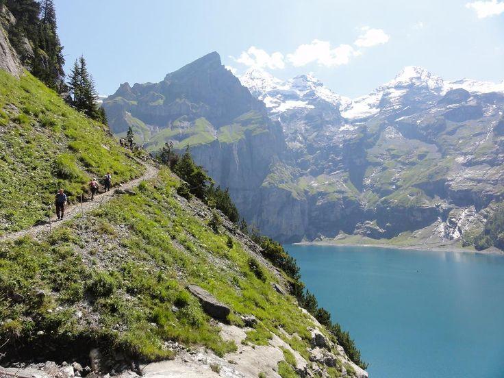 Trekking Alpy Berneńskie, Gletscherhorn, Jungfrau, Monch, Eiger, Szwajcaria, Sporty Ekstremalne i Trekkingi, Podróże Egzotyczne i Wyprawy, T...
