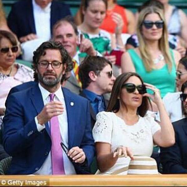mariska hargitay amp peter hermann in london at the tennis