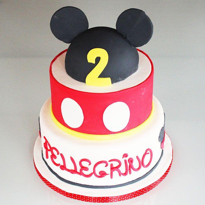 Torta michey mouse... topolino  cake design!  http://www.marypopcake.it/cakedesign-bimbi/