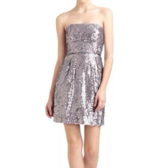 Breez - Bcbg Maxazaria Carol Sequin Lilac Dress