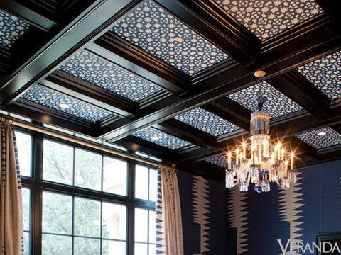 Well-Advised: Kirsten Fitzgibbons and Kelli Ford | For the Home | Ceiling design, Wallpaper ...