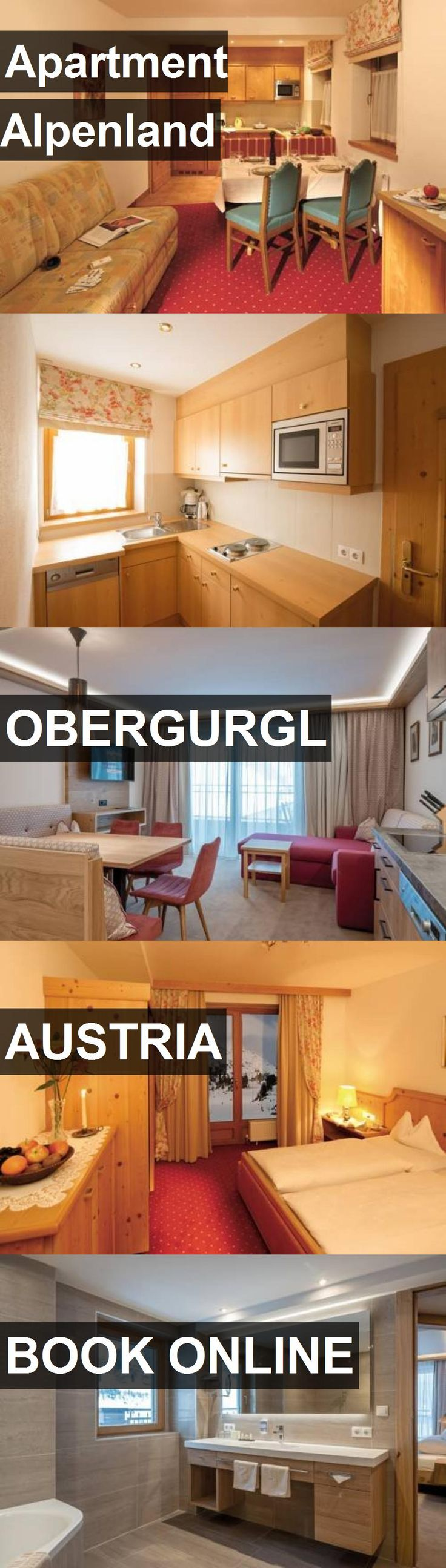 Hotel Apartment Alpenland in Obergurgl, Austria. For more information, photos, reviews and best prices please follow the link. #Austria #Obergurgl #ApartmentAlpenland #hotel #travel #vacation