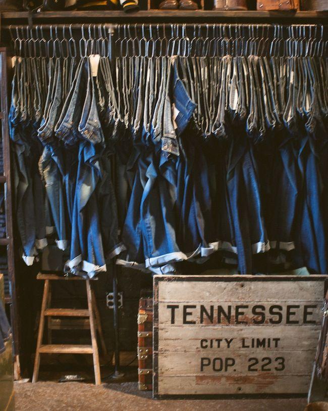 Imogene + Willie #denim shop, #Nashville, photo by Joe Gomez.