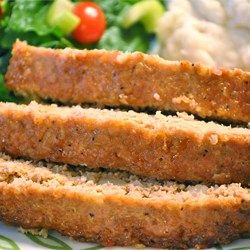 """Turkey and Quinoa Meatloaf   """"I followed the recipe exactly, and this turned out perfect. Much better than expected. I was expecting a healthy recipe like turkey meatloaf (which doesn't sound really great, honestly) to be kind of bland. But this was anything but - it was moist and full of flavor. """""""