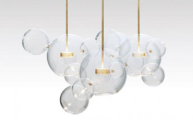 Les 25 meilleures id es concernant luminaire boule sur for Suspension boule design