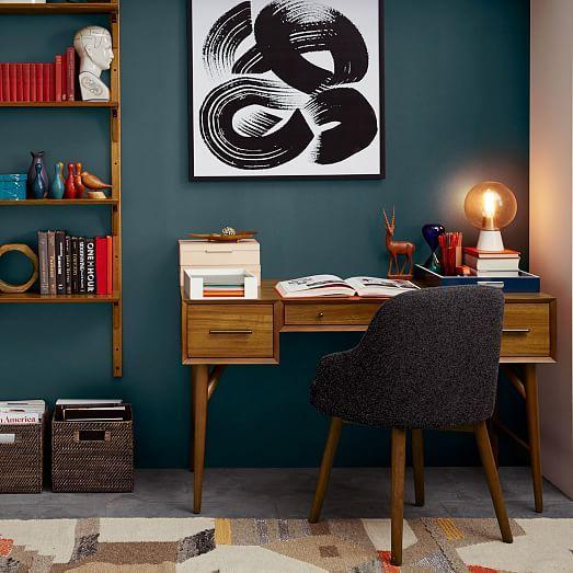 Bedroom Design Oak Colour Shades For Bedroom Walls Bedroom Sets With Desk Car Bedroom Accessories: 25+ Best Ideas About Mid Century Desk On Pinterest