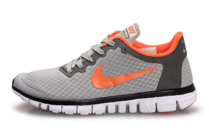 Grey And Orange Nike Womens Shoes
