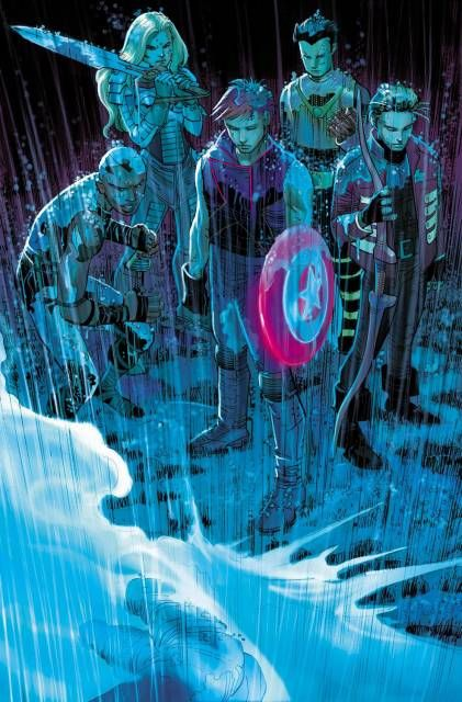 Next Avengers (Team) - Comic VineThe children of the Avengers of a dark, twisted dystopian future where Ultron slew their parents and became the sovereign of Earth.  Earth-555326