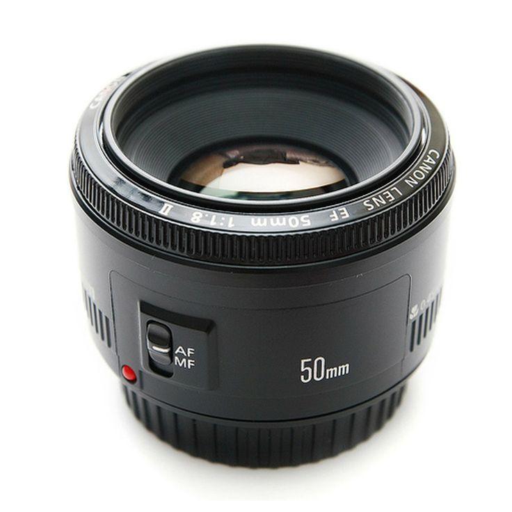 [Canon] Camera SLR Lenses: EF 50mm F1.8 II Telephoto Lens Box BRAND NEW in Box