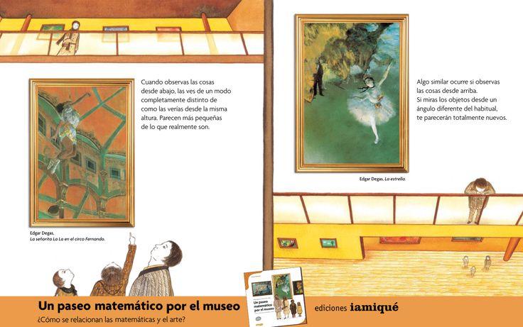 ¡#DíaInternacionalDeLosMuseos! Estas instituciones nos enriquecen investigando, conservando y exhibiendo #patrimonio artístico, histórico, científico.  Mira en Un Paseo Matemático por el Museo, cómo se relacionan las #matemáticas y el #arte: ¿Qué figuras utilizaba #Kandinsky? ¿Cómo jugaba #Picasso con los ángulos? Obras de grandes #artistas que nos permiten aprender sobre puntos, líneas, planos, figuras, #perspectiva, #simetría y mucho más.  #LIJ #libros #ciencia #niños
