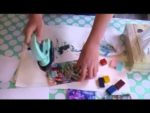 Encaustic & Mengen van Kleuren - YouTube
