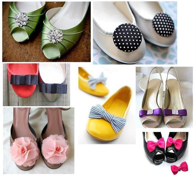 Как украсить обувь своими руками