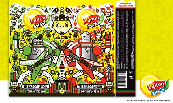 Lipton on Behance