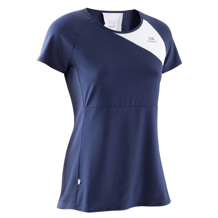 Kadın Sıcak Hava Koşu Kıyafetleri Kadın Spor Giyim - RUN DRY+ TİŞÖRT  KALENJI - Kadın Spor Giyim