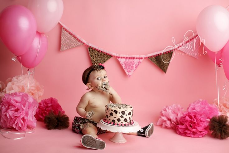 Madison | Happy Birthday Baby Girl | Cake Smash First Birthday | Mena, Arkansas Baby Photographer » My Website