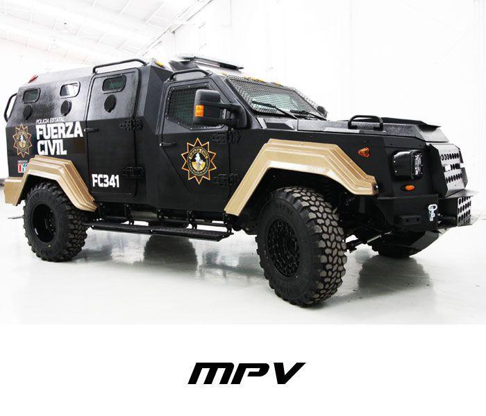 Terradyne Armored Vehicles Gurkha MPV  Pasa por marcasdecoches.org para saber más sobre las diferentes marcas de coches.