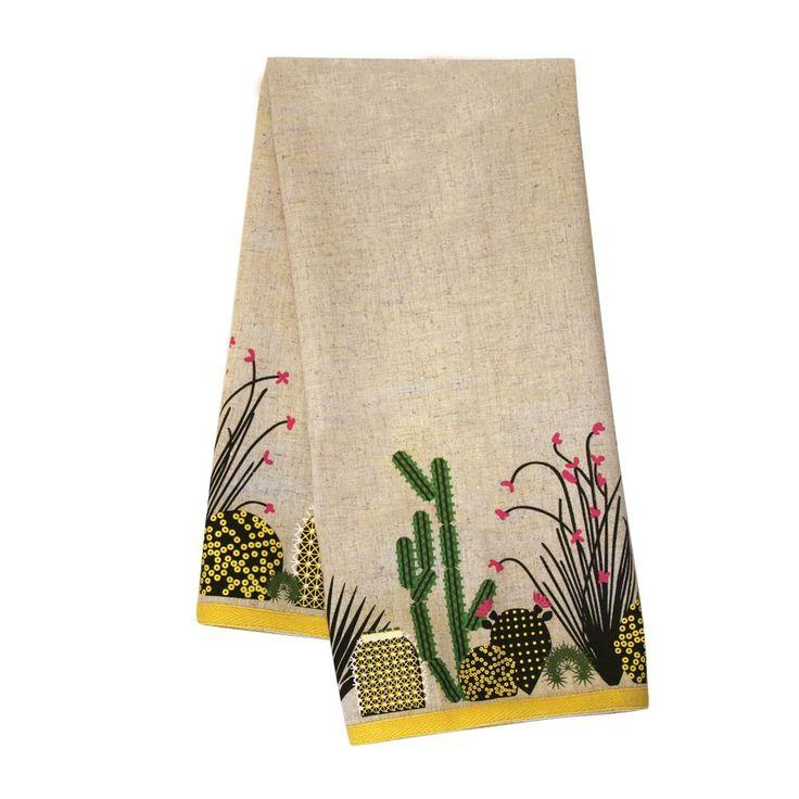 Oldham + Harper Cacti Dishtowel - Patterns & Collections