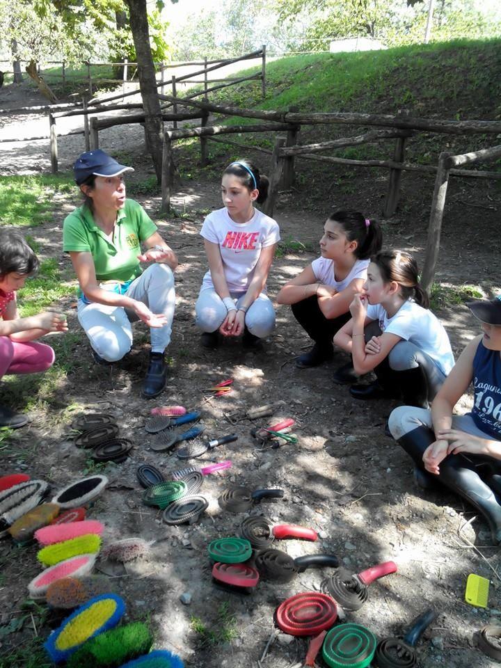 Il nostro gruppo: Martina, Irene, Vittoria, Fabio, Elena.