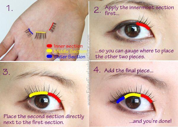 e17f6af2adb How to Apply False Eyelashes – 5 Tips You Wish Someone Had Told You | False  Eyelashes Blog | hair | Applying false eyelashes, False eyelashes tips,  Eyelash ...