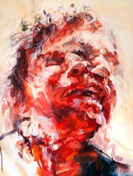 Louis Savage - Study for Pentheus 1, Oil on Linen, 100 x 70 cm