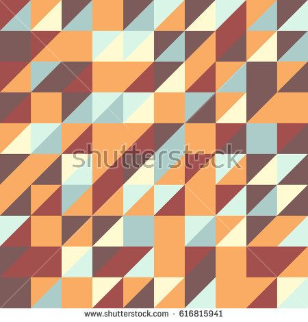 Vector abstract triangle seamless pattern texture background
