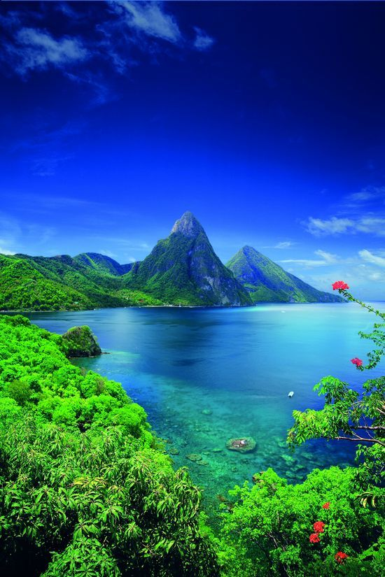 Saint Lucia, Caribbean. I need to be here like... now