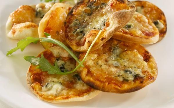 Oppskrift på Pizzatapas, foto: Ostecompaniet